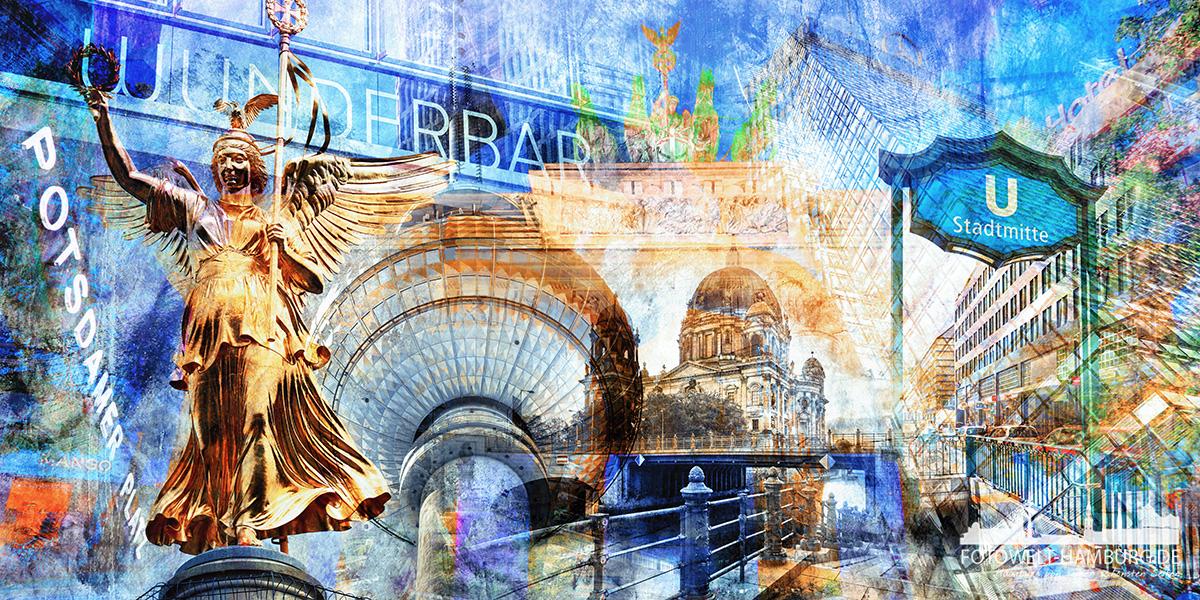 Berlin Bilder Und Fotos Auf Leinwand Acrylglas Dibond Poster