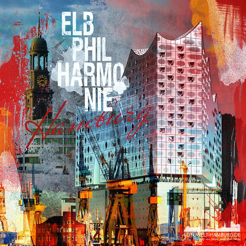 Elbphilharmonie Leinwand Bilder, Glasbilder, Fotos und Poster kaufen.